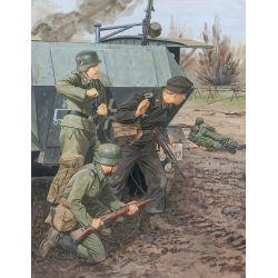 Panzer-Pionier-Bataillon 37, 1.Panzer-Division Leningrad 1941 (4 Figuras)