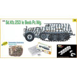 SdKfz 253 Leichter Gepanzerter Beobachtungskraftwagen + 5 Figuras