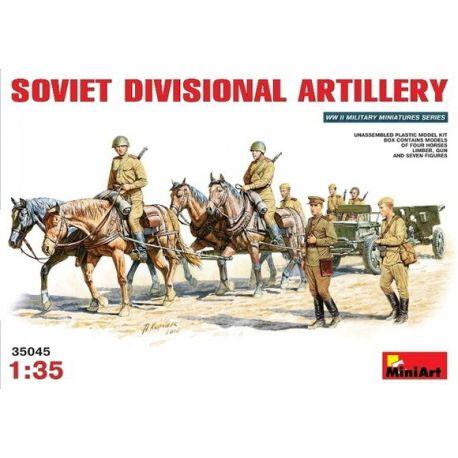 Soviet Divisional Artillery