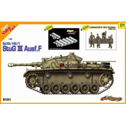 StuG.III Ausf.F + 4 Figuras