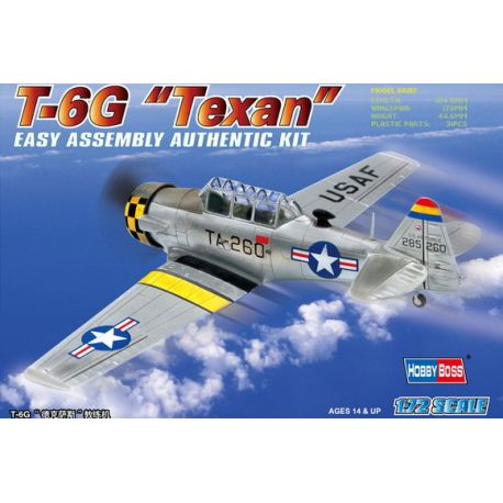 T-6G Texan + Calcas Españolas