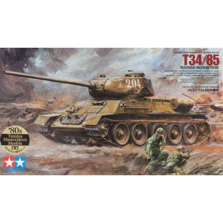 T34/85 Russian Medium Tank