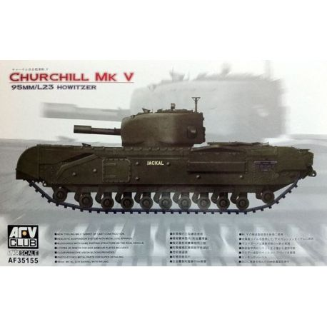 Tanque Churchill MK V 95mm/L23 Howitzer