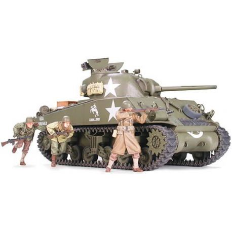 U.S. Medium Tank M4A3 Sherman 75mm Gun Late Production
