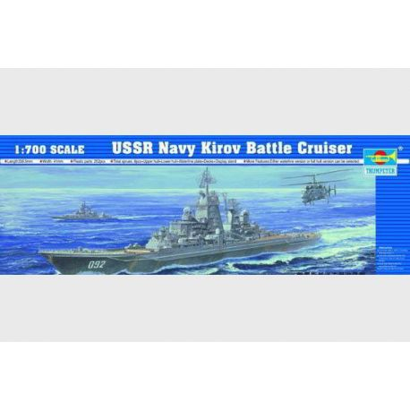 USSR Navy Kirov Battle Cruiser