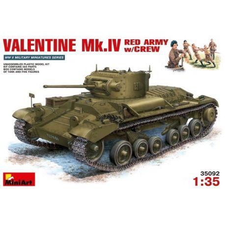 VALENTINE Mk.IV EJÉRCITO ROJO + Tripulación