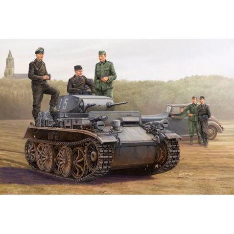 (Panzer I) - PzKpfw I Ausf C (VK 601)
