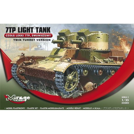 7TP Light Tank Twin Turret