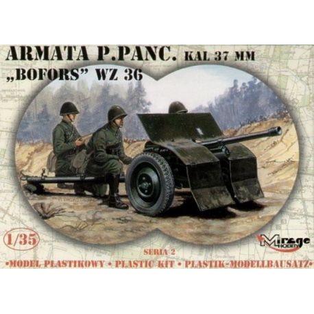 Anti-Tank Gun Bofors 37mm