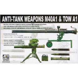 Armas Antitanque M40A1 y TOW A1