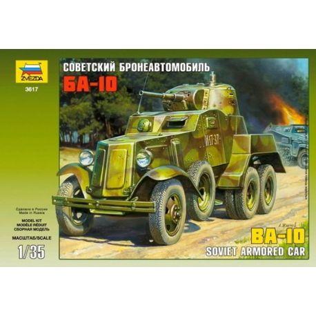 BA-10 Soviet Armored Car