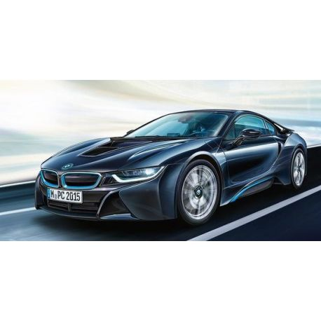BMW i8 escala 1:24