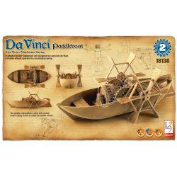 Bote con Ruedas de Palas - Leonardo da Vinci