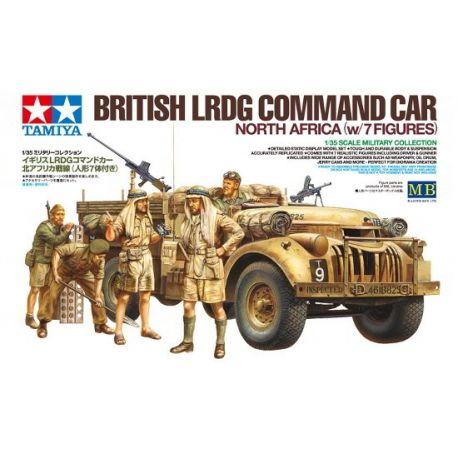 British LRDG Command Car - North Africa