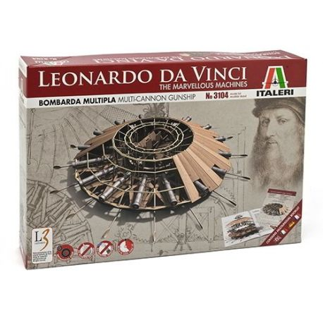 BOMBARDA MULTIPLE - Leonardo da vinci