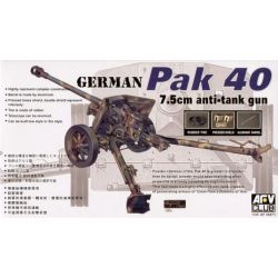 Cañón antitanque Pak 40 75mm