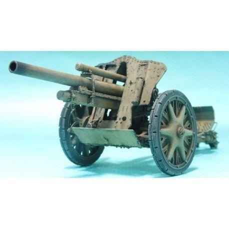 Cañón de artilleria IeFH 18 105mm.