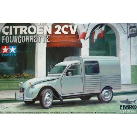 Citroen 2CV Furgoneta -Tamiya