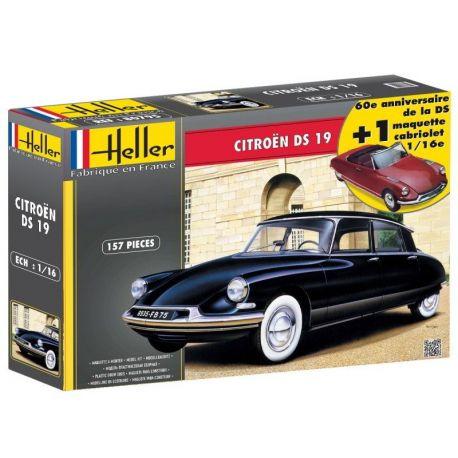 Citroen DS 19 - Set Dos Carrocerías 1/16