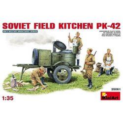 Cocina de Campo Soviética KP-42