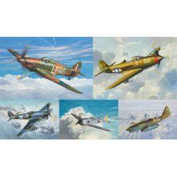Colección Micro Wings - Aviones WWII 1:144