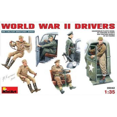 Conductores Segunda Guerra Mundial