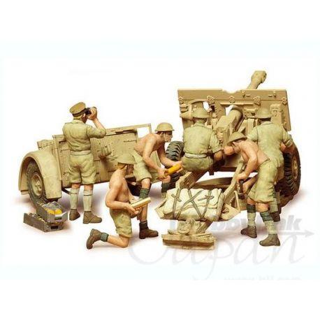 British 25PDR. Field Gun