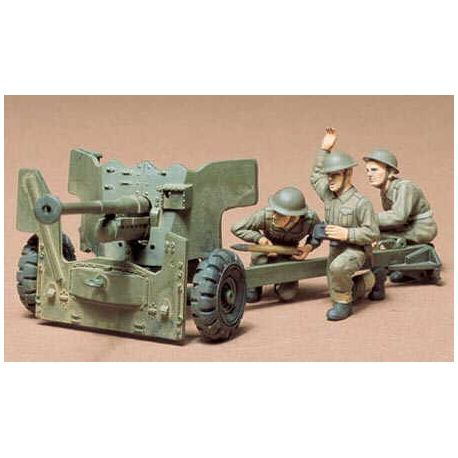 British Army 6 pounder Anti-Tank Gun
