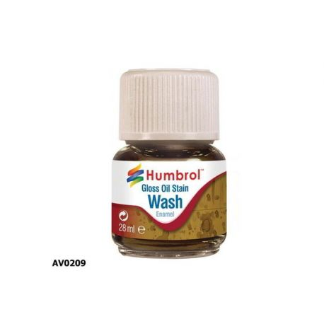 Enamel Washes, (Lavados), Color Aceite Manchado 28ml