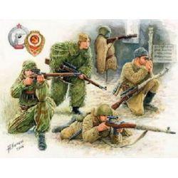 Equipo de Francotiradores Soviéticos WWII
