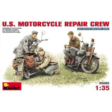 Equipo de Reparación y Motos Harley Davidson WLA