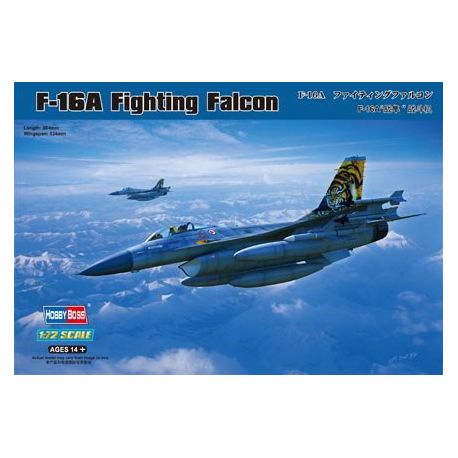 F-16A Fighting Falcon.