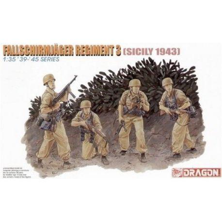 Fallschirmjager Regiment 3 - Sicily 1943