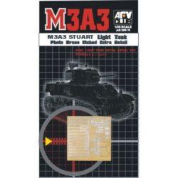 Fotograbado metalico para M3A3 Stuart Light Tank.