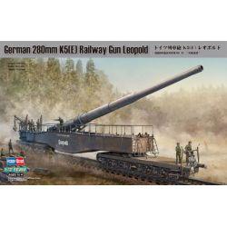German 280mm. K5 Railway Gun Leopold