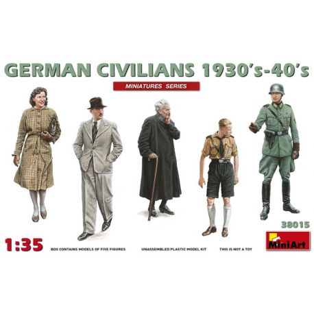 German Civilians 1930's-1940's