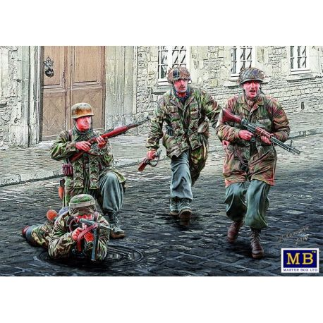 German Paratroopers WWII