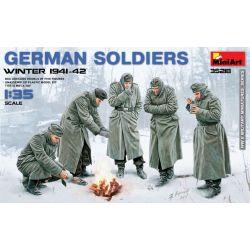 German Soldiers Winter 1941-42