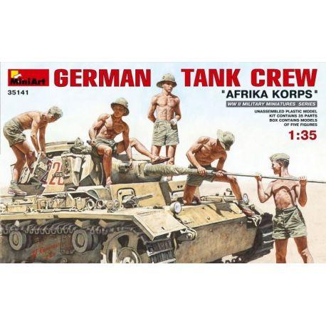 German Tank Crew - Afrika Korps