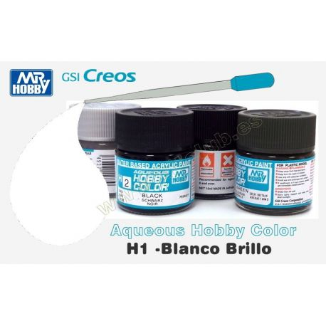 H1-Blanco Brillo
