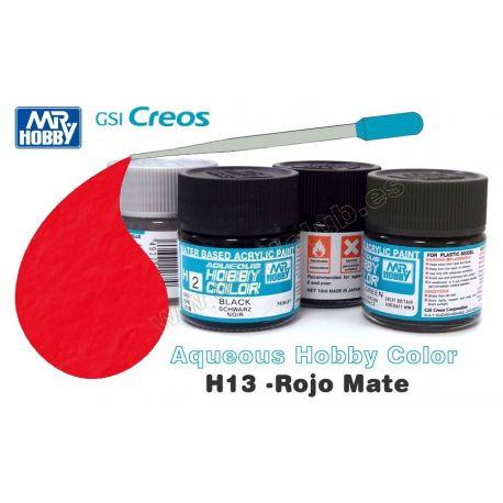 H13-Rojo Mate