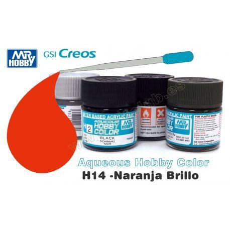 H14-Naranja Brillo