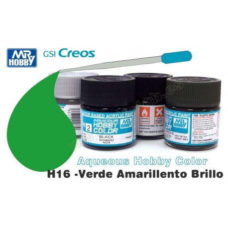 H16-Verde Amarillento Brillo