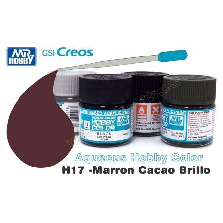 H17-Marrón Cacao Brillo