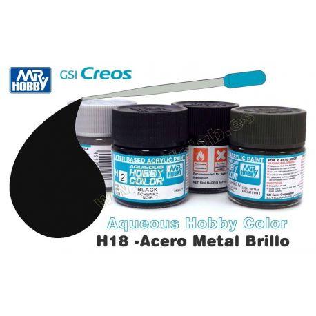 H18-Acero Metalizado