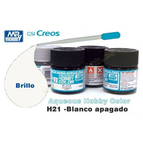H21-Blanco Apagado Brillo