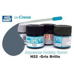 H22-Gris Brillo