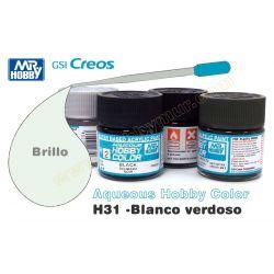 H31-Blanco Verdoso Brillo