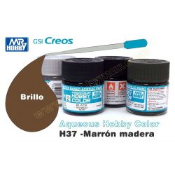 H37-Marrón Madera Brillo