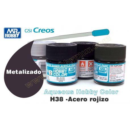 H38-Acero Rojizo Metalizado